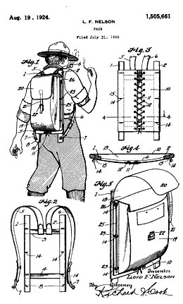 Lloyd F Nelson Submits Patent Application For His Trail