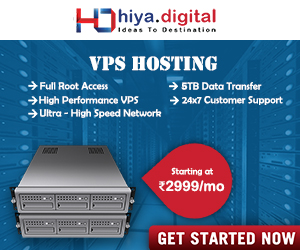 Vps Hosting Hiya Digital