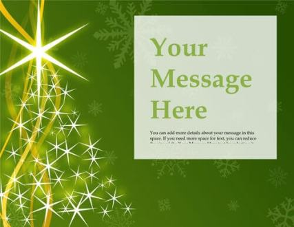 christmas brochure templates free