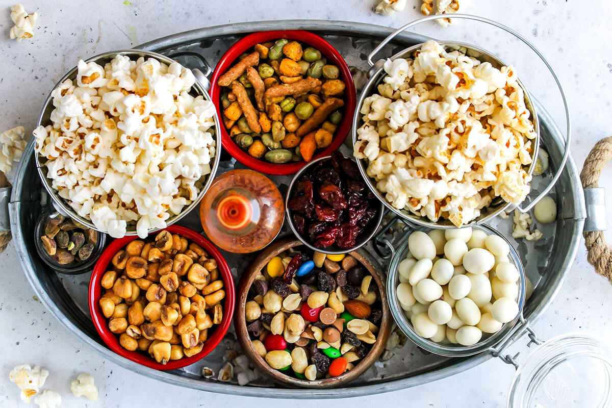 How To Set Up A Gourmet Popcorn Bar Holley Grainger
