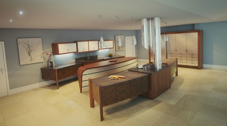 Innovative Kitchens Amp Curvaceous Countertops