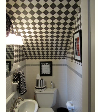 Home Dzine Home Decor Ideas For Using Space Under The Stairs | Under Stair Toilet Design | Toilet Separate | Underground Washroom | Wet Room | Stepped Floor | Small