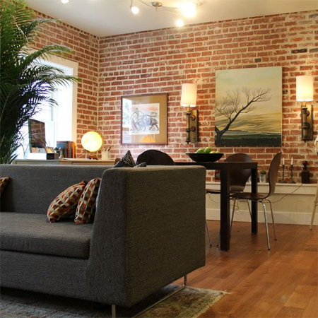 Home Dzine Home Decor 20 Divine Bare Brick Interiors