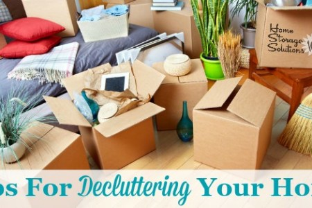 Decluttering Tips For Your Home  How To Find Your Path To Peace  Series  Tips for  decluttering your home  including dealing with emotions and  psychology surrounding  clutter