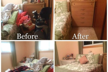 Guest Bedroom Declutter Mission  How To Clear The Clutter How to declutter your guest bedroom so that your guests will enjoy their  stay in your