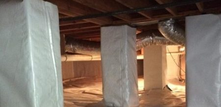 Crawl Space Insulation To Prevent Problems A Crawl Space With Piers