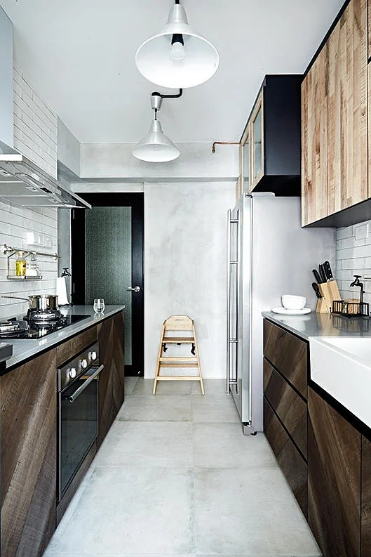 10 Trendy Kitchens Of Hdb Flat Homes Home Amp Decor Singapore