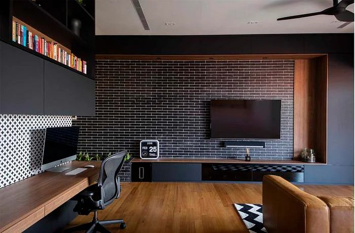 5 Modern And Geometric Tv Console Designs Home Amp Decor