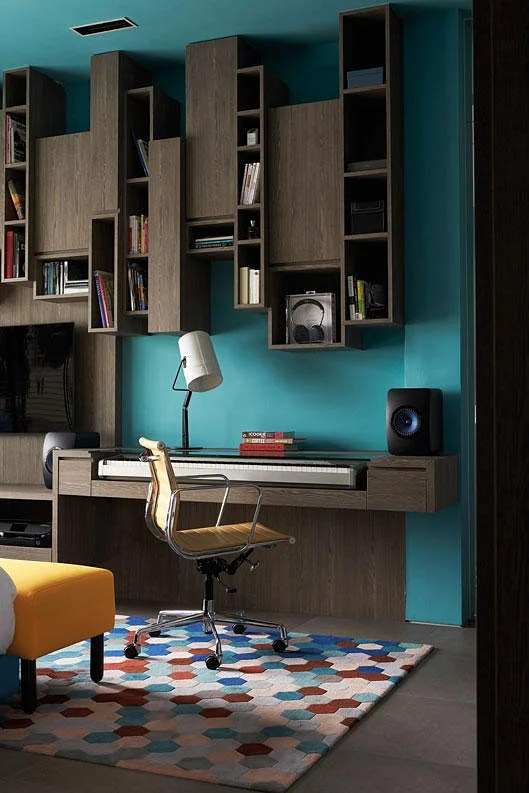 7 Design Ideas For A Stylish Study Area In The Bedroom