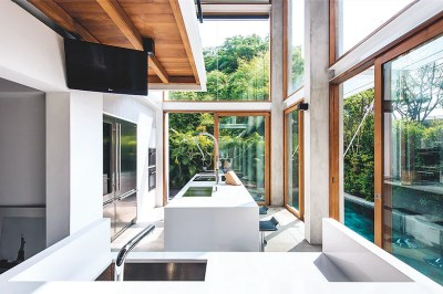 Interior design styles: Contemporary tropical-style homes ...