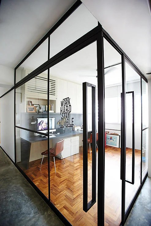 7 Homes That Made Full Use Of Glass Partitions Home