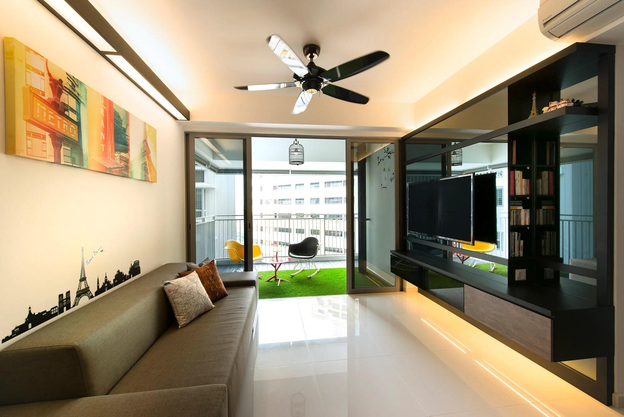 Interior Design 5 Room Hdb