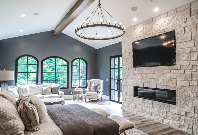 Modern French Chateau Style Custom Home Design Home Bunch Interior Design Ideas