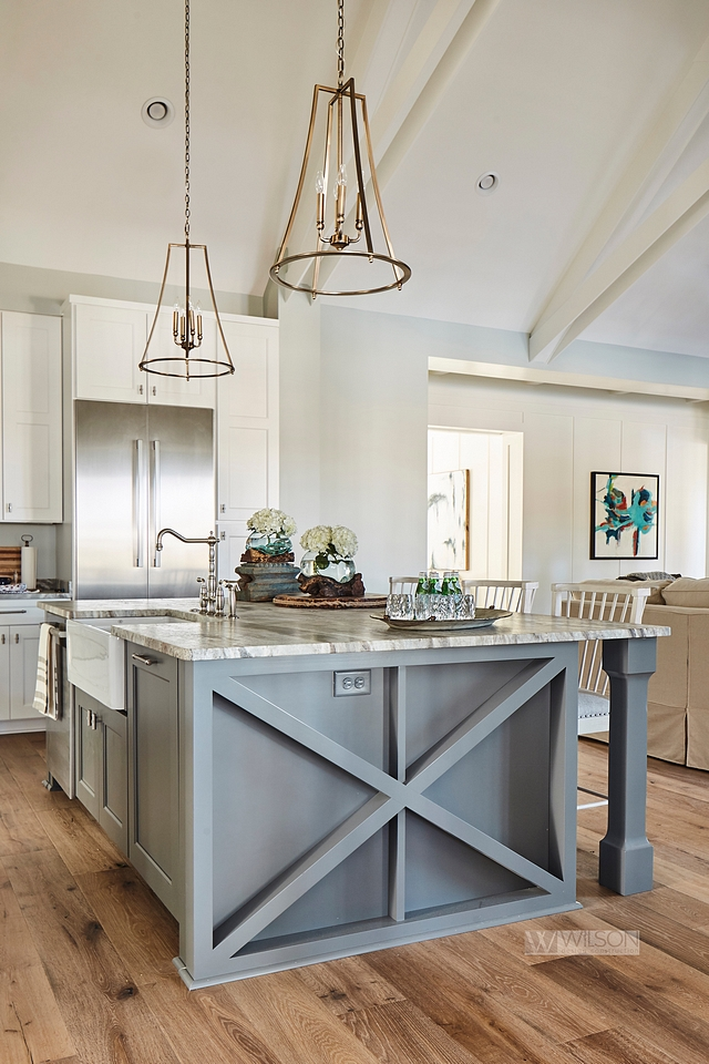 Modern Farmhouse With Front Porch Home Bunch Interior