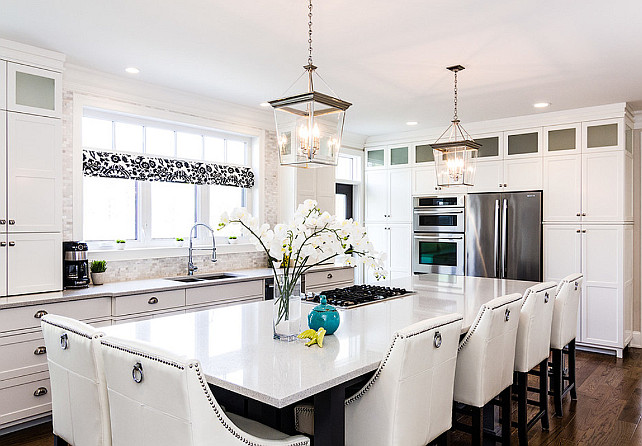 Family Home With Stylish Transitional Interiors Home