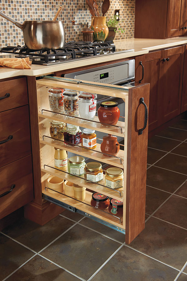 Base Pull Out Cabinet Homecrest Cabinetry