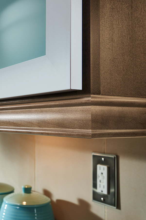 Light Rail Moulding For Cabinets Homecrest Cabinetry