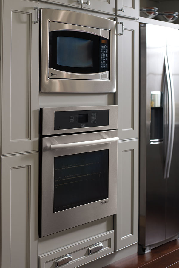 Oven And Microwave Cabinet Homecrest Cabinetry