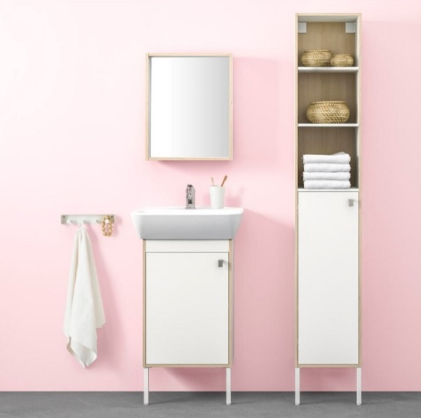 IKEA Catalog 2018  Top Bathroom Products to Go With   Home Decor Buzz Amazing cabinet and sink for bathroom from IKEA collection