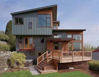 The Most Popular Styles of Split Level House Plans   Home Decor Help Split House Designs With Modern Split Level Home Design Architecture And  Interior Decor