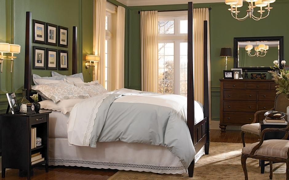 Bedroom   Paint Color Selector   The Home Depot Traditional Bedroom