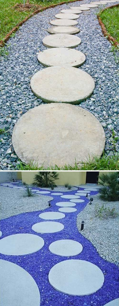 Lay A Stepping Stones And Path Combo To Update Your