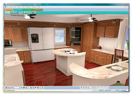 3D Home Design Software   Virtual Architect Powerful 3D animation  Allows you to record an actual 3D tour through your  living space that you can play back anytime