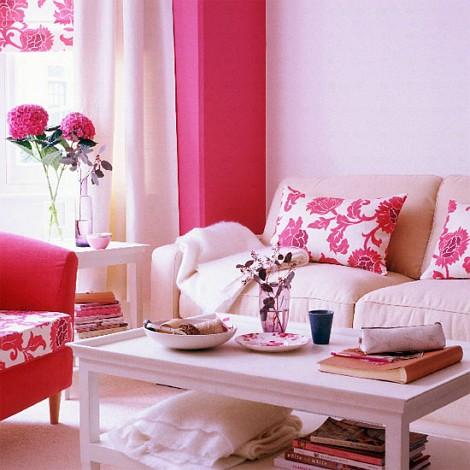 ... Pink A Modern And Feminine Brooklyn Studio Homepolish A Modern And  Feminine Brooklyn Studio Interior Design Ideen Luftige Feminine Wohnzimmer  Designs ...