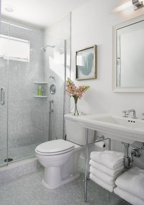 Top Ways To Make Small Bathroom Look Bigger Interior