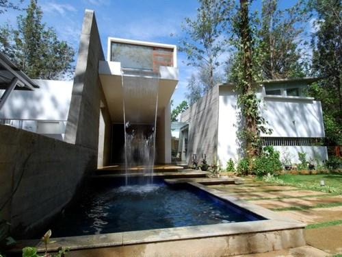 Building Garden Pond Waterfall