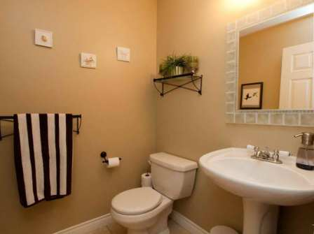 10 Ideas To Decorate Powder Rooms Home Interiors Blog