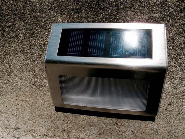Solar Step Light Lighting