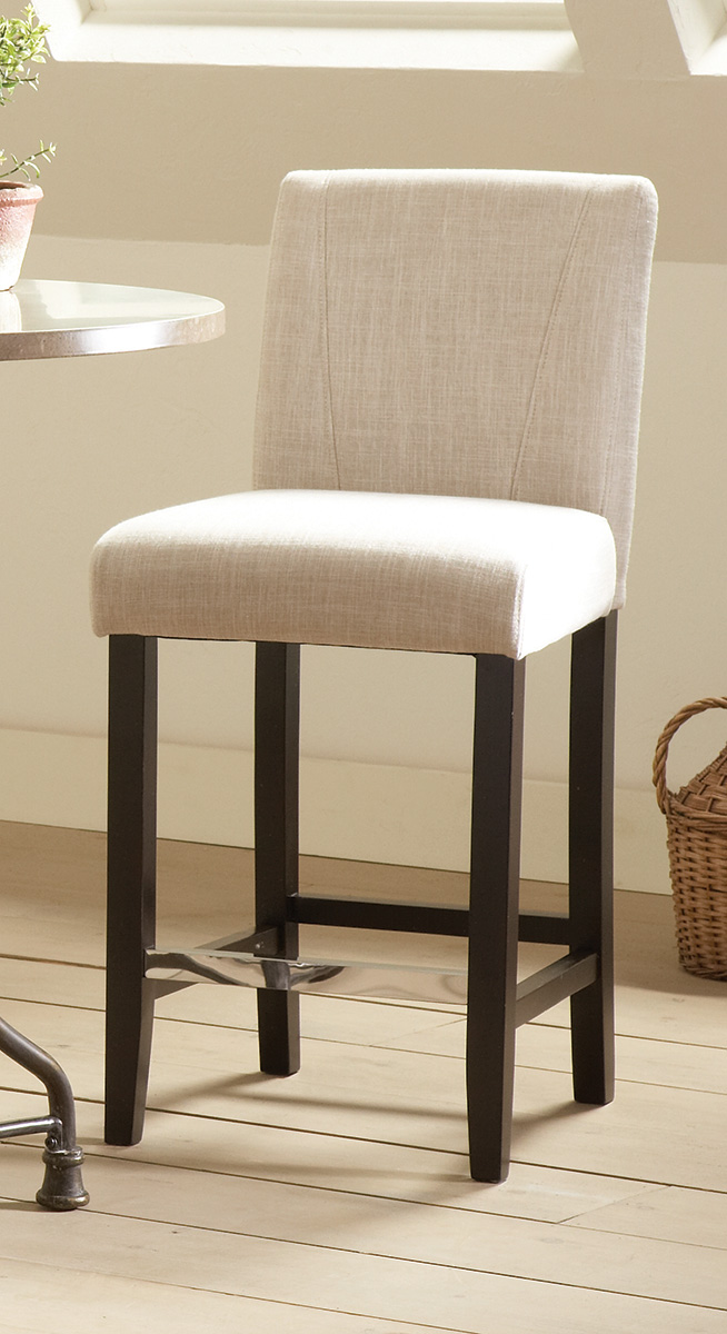 Coaster Lahner Counter Height Stool Ivory 130063 At