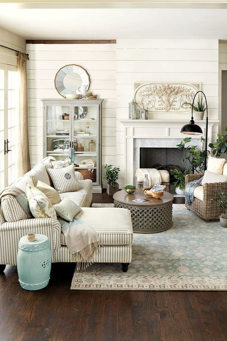 27 Rustic Farmhouse Living Room Decor Ideas for Your Home   Homelovr Rustic Living Room