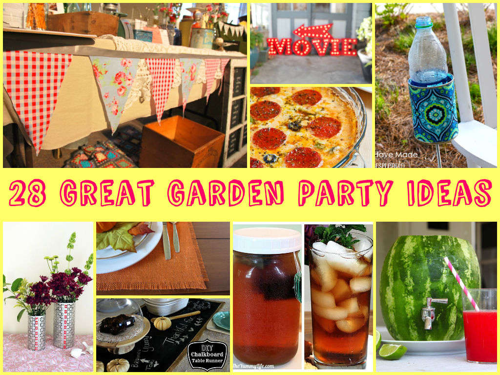 Garden Party Decorations To Make