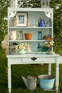 12 Unique Garden Potting Table Ideas