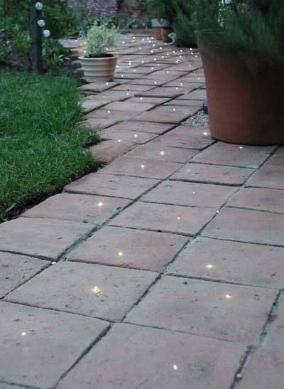 Christmas Lights Walkway
