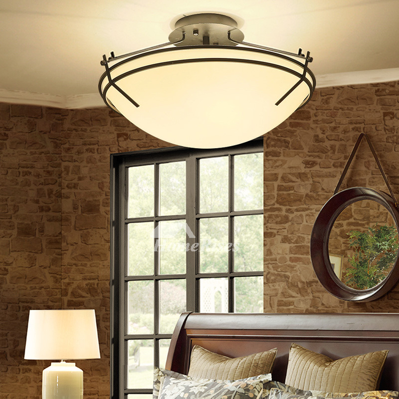 Rustic Flush Mount Lighting