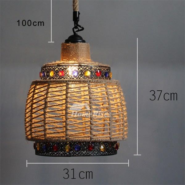 pendant lighting rope # 44