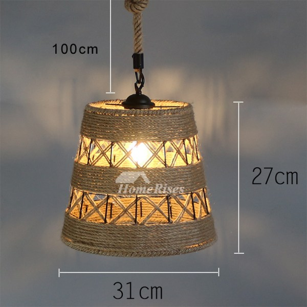 pendant lighting with rope # 39