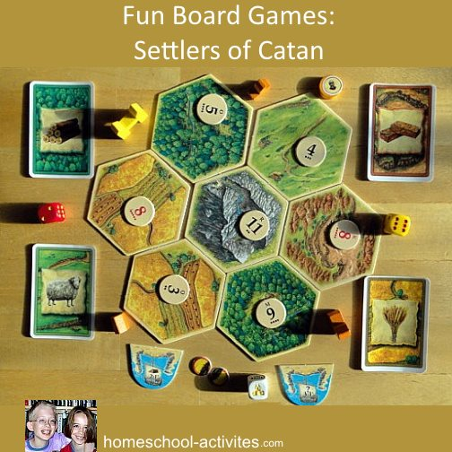Fun Third Grade Math Activities  Our Favorite Games Settlers of Catan