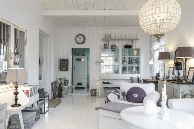 Ideas to decorate and furnish a home in the shabby chic ...