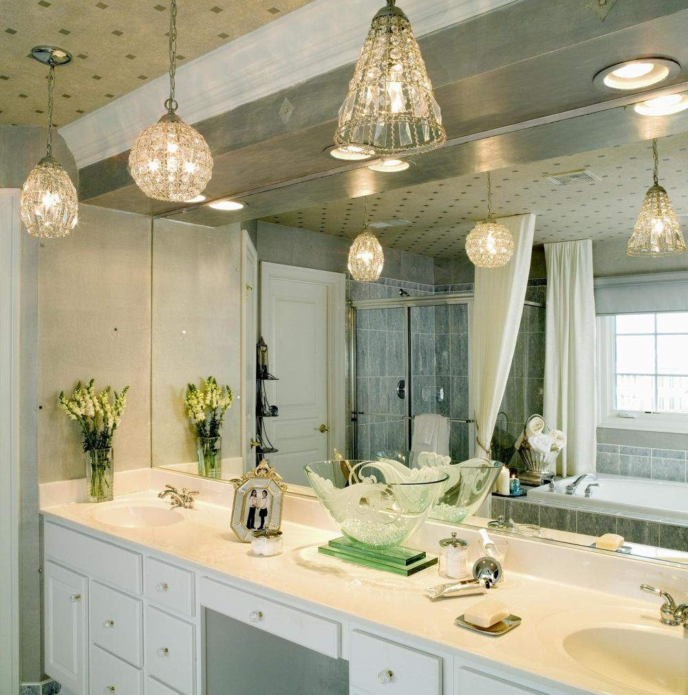 Brown Vanity Mirror Lights