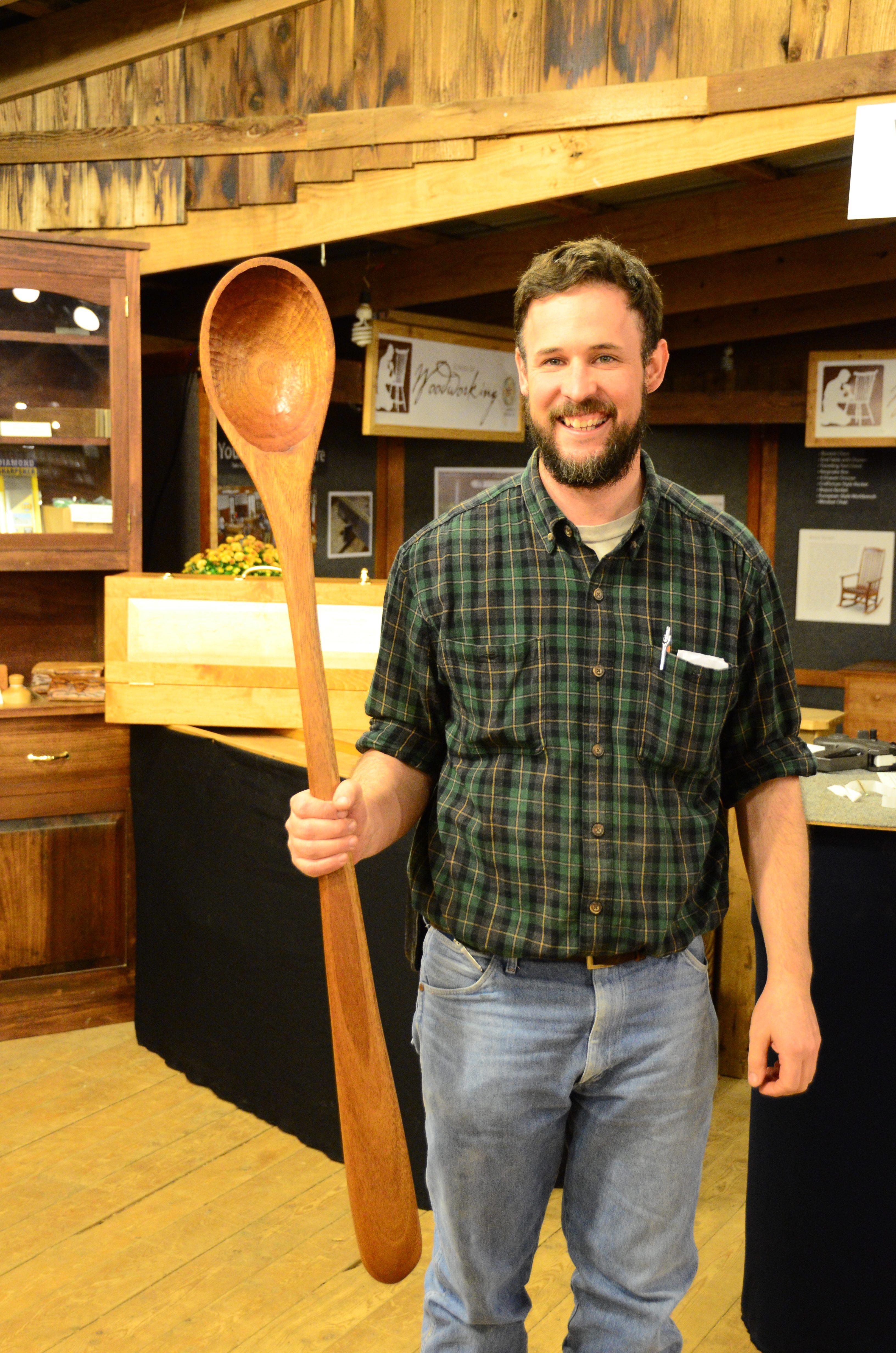 A Spoon As Large As A Man Homestead Fair 2019
