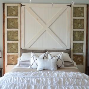 How To Build A Barn Door Headboard Diy Headboard Home