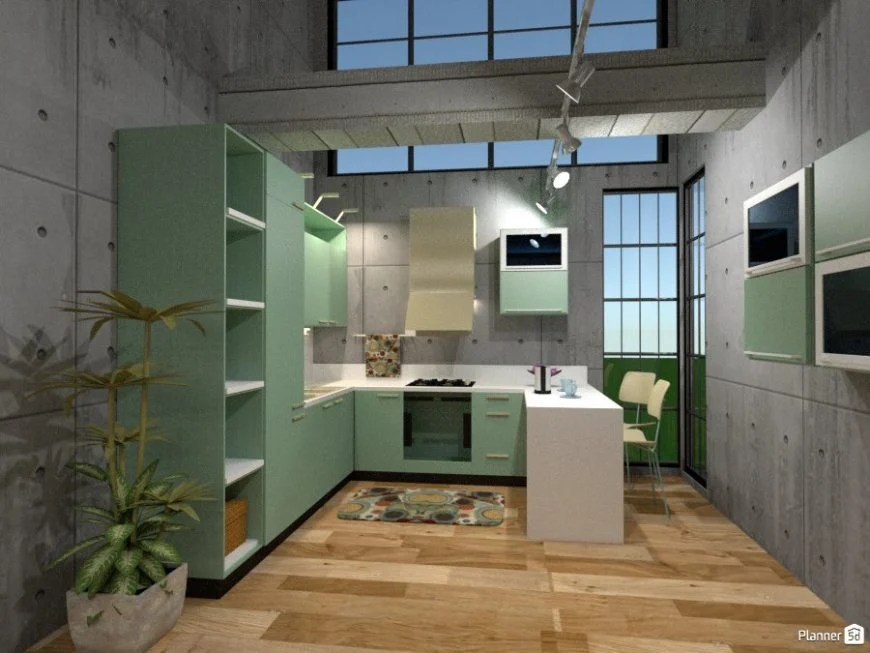 Kitchen Design Planner 5d
