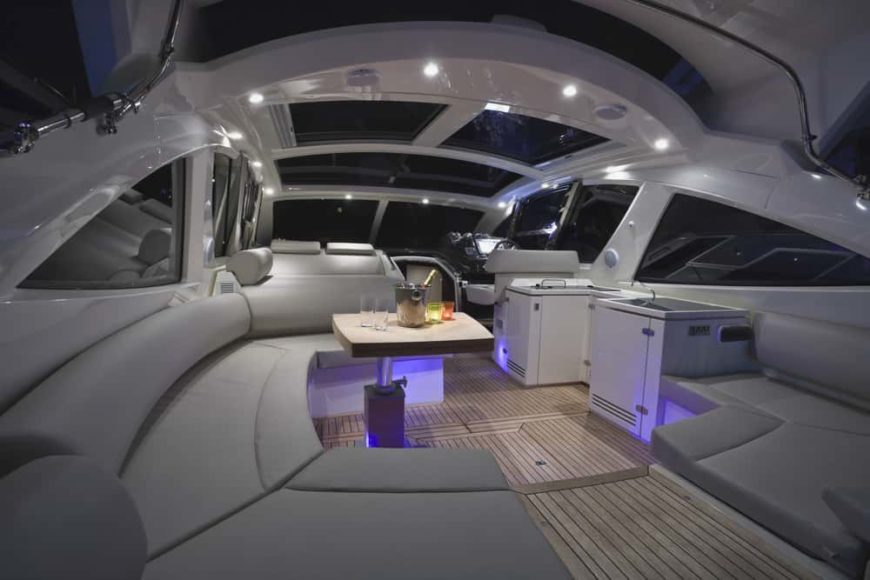 84 Luxury Yacht Interiors Bedroom Galley And Salon Pictures