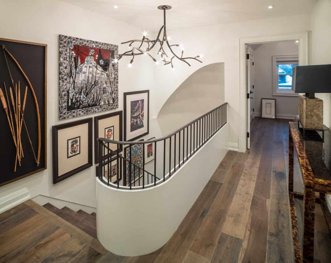 46 Upper Floor Staircase Landing Ideas Photos | Hall Stairs And Landing Carpet | Stair Landing 1028 1028 | Staircase | Grey | White | Pinstripe Grey