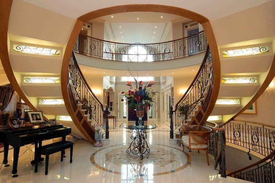 50 Straight Staircase Ideas Photos | Center Staircase House Plans | Georgian House | Spiral | Split | Room | Contemporary