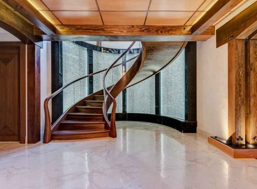 50 Spiral Staircase Ideas Photos   Spiral Stairs Off Deck   Railing   Wood Deck   Metal   Stair Case   Stairway